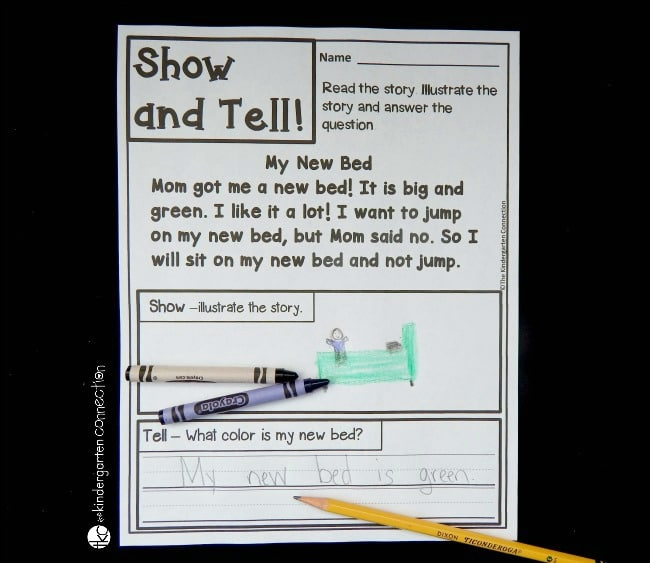 Build fluency with sight words and simple sentences while building up comprehension too with these fluency and comprehension passages! They are perfect for early readers to provide reading practice and build confidence!