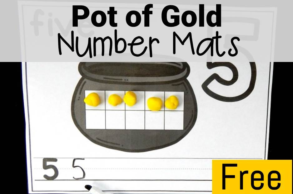 Pot of Gold Number Mats