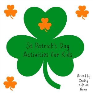 A great list of super fun St. Patrick's Day crafts and learning activities for kids!