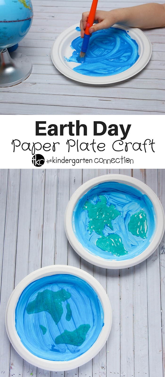 This paper plate craft is a fun hands on way to celebrate Earth Day!  sc 1 st  The Kindergarten Connection & Earth Day Paper Plate Craft - The Kindergarten Connection