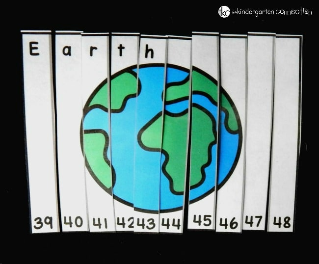 Counting On Planet Puzzles - The Kindergarten Connection