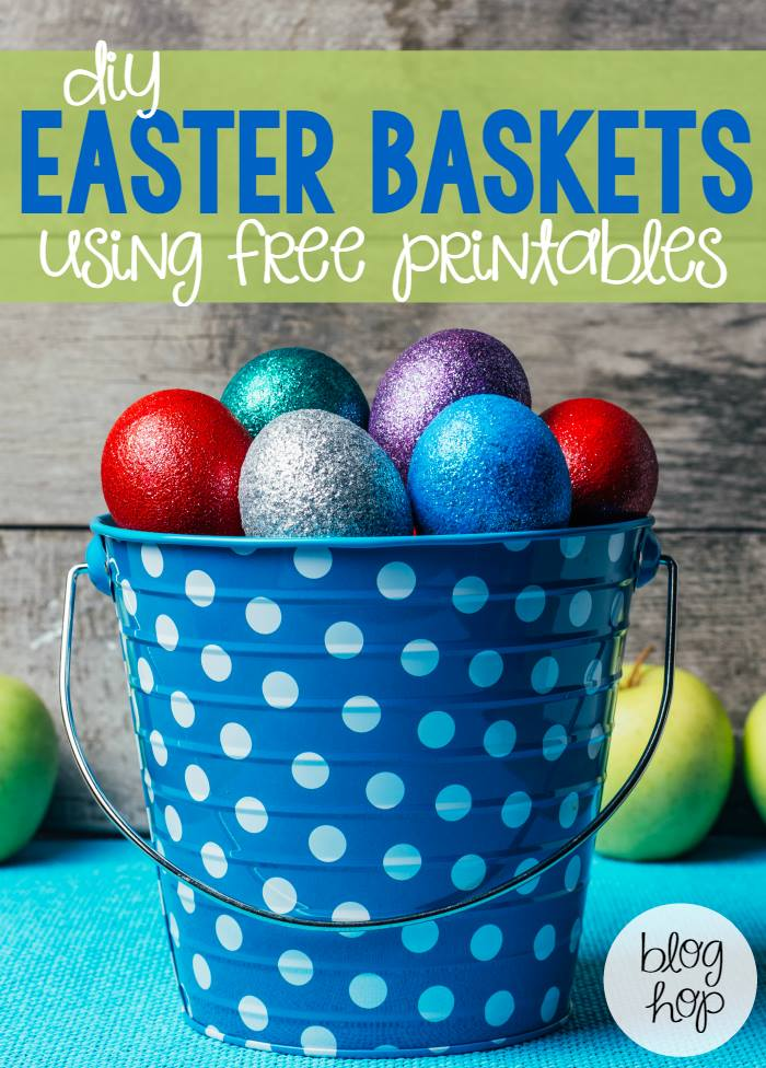 This easy Easter basket for kids is perfect to make for a child in your life this Easter! It includes free printables so you don't have to break the bank!