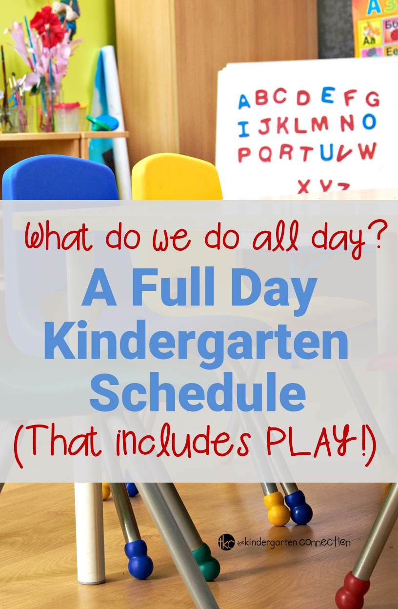A Look at a Full Day Kindergarten Schedule - The