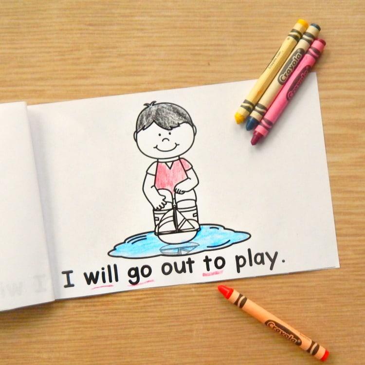 Spring Emergent Readers for Kindergarten!