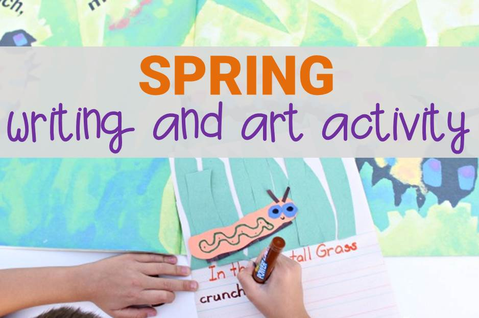 """In the Tall, Tall Grass"" Spring Writing and Art Activity"