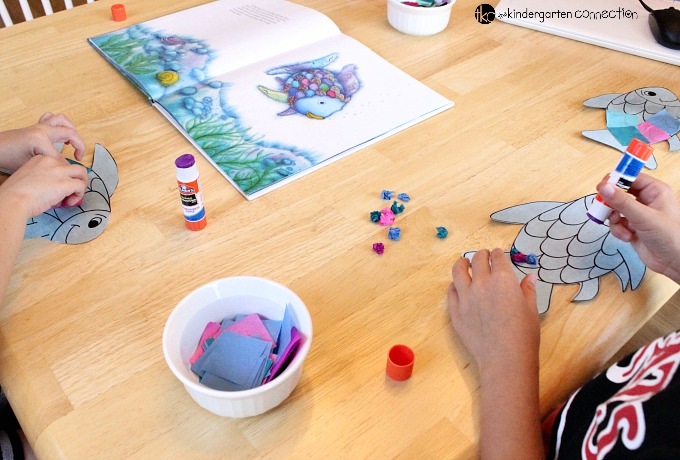 this rainbow fish craft is the perfect companion to the beloved book the rainbow fish - Colorful Fish Book