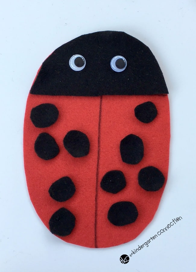 Have fun working on counting, one to one correspondence, subitizing, and more with this engaging and easy to make Roll a Ladybug dice game!