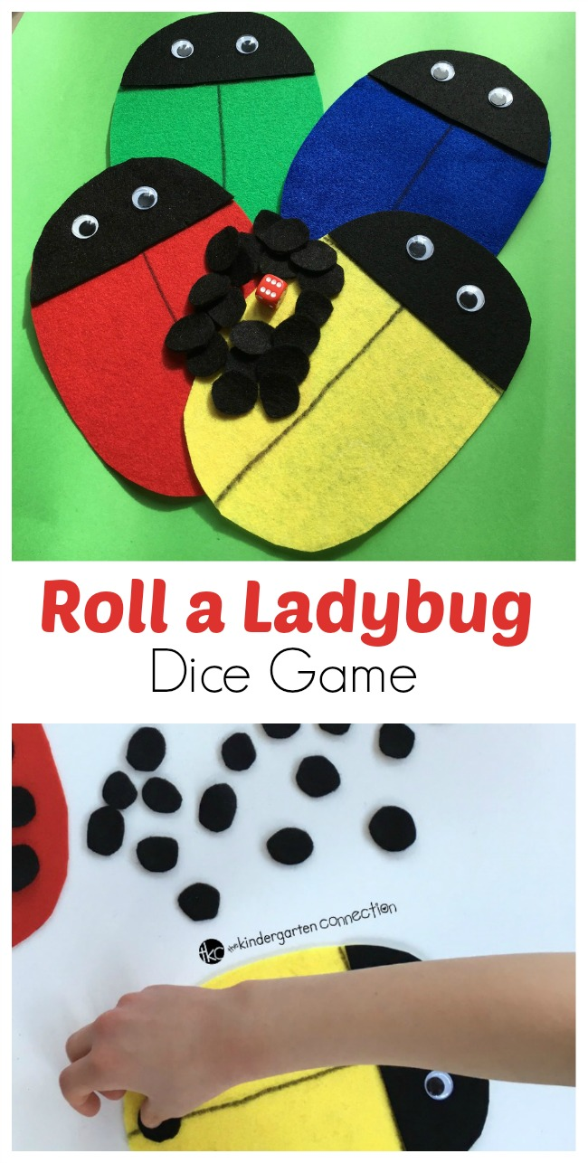 one to one correspondence definition preschool roll a ladybug dice the kindergarten connection 864
