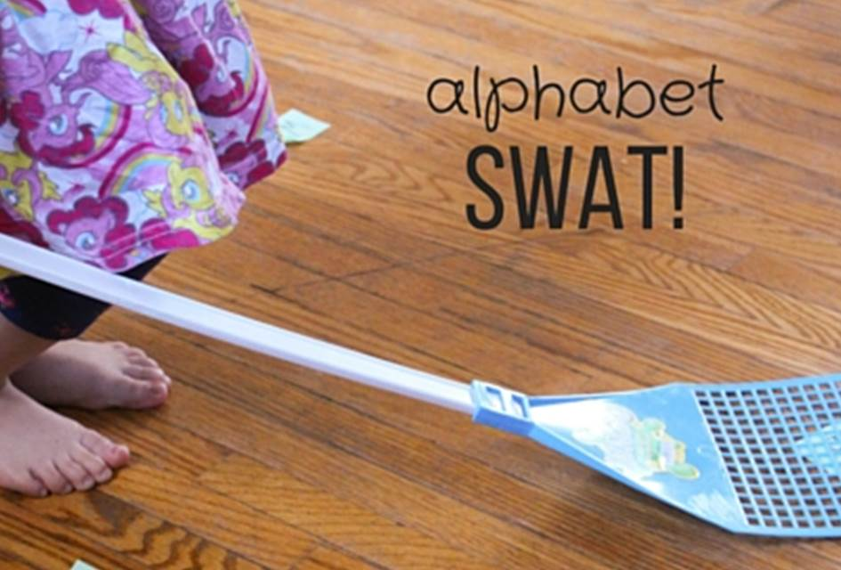 Alphabet SWAT! Letter Recognition Game