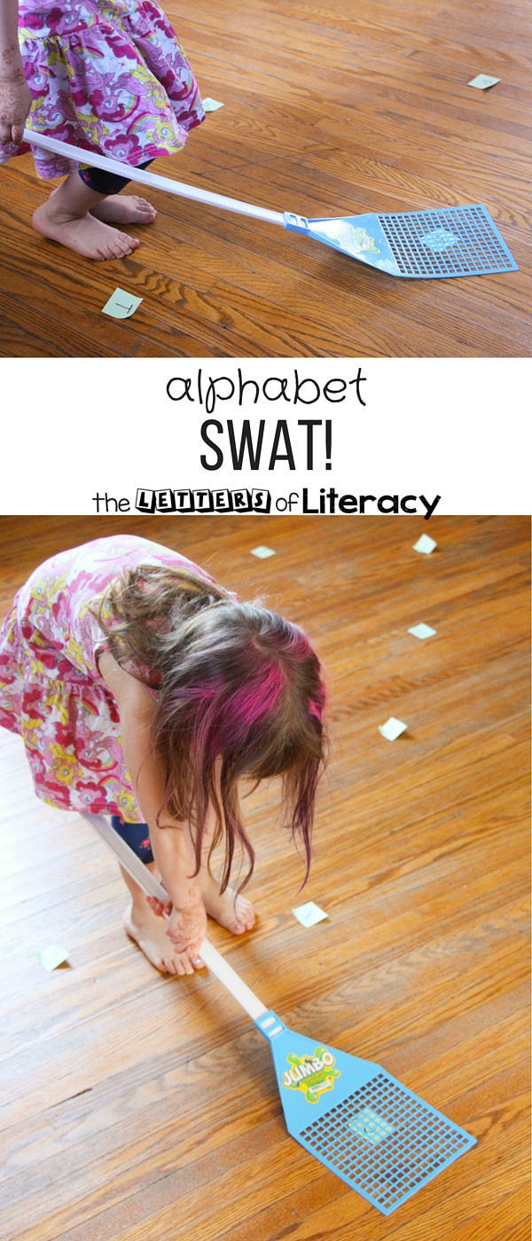 Alphabet Swat Letter Recognition Game  The Letters Of Literacy
