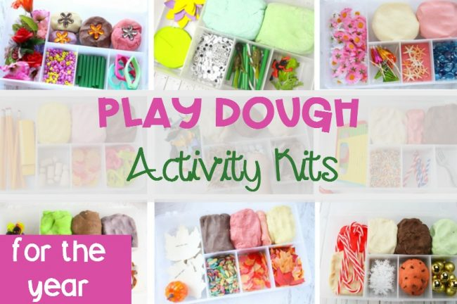 Classroom Play Dough Activity Kits for the year