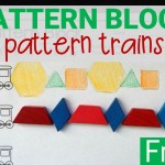 Pattern Block Trains
