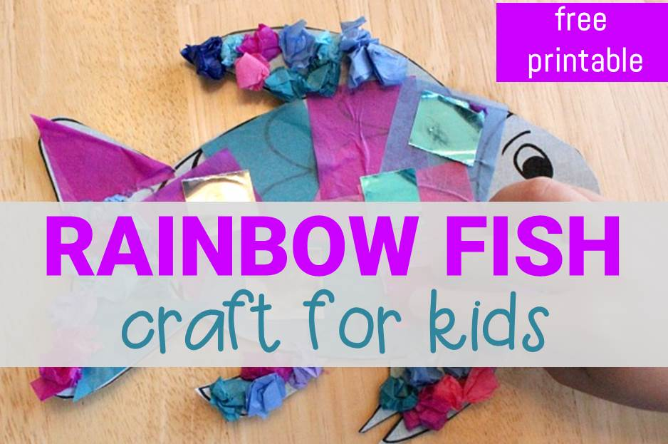 rainbow fish craft main image