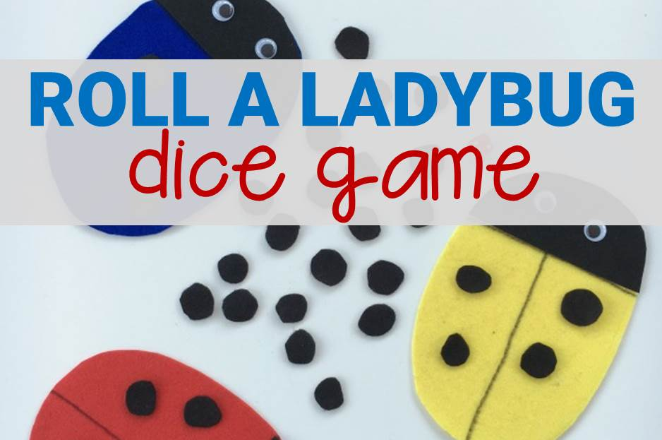 roll a ladybug dice game