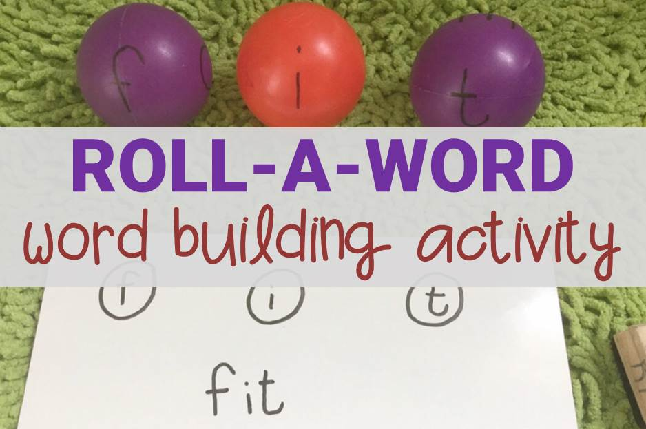 Roll-a-Word Word Building Activity