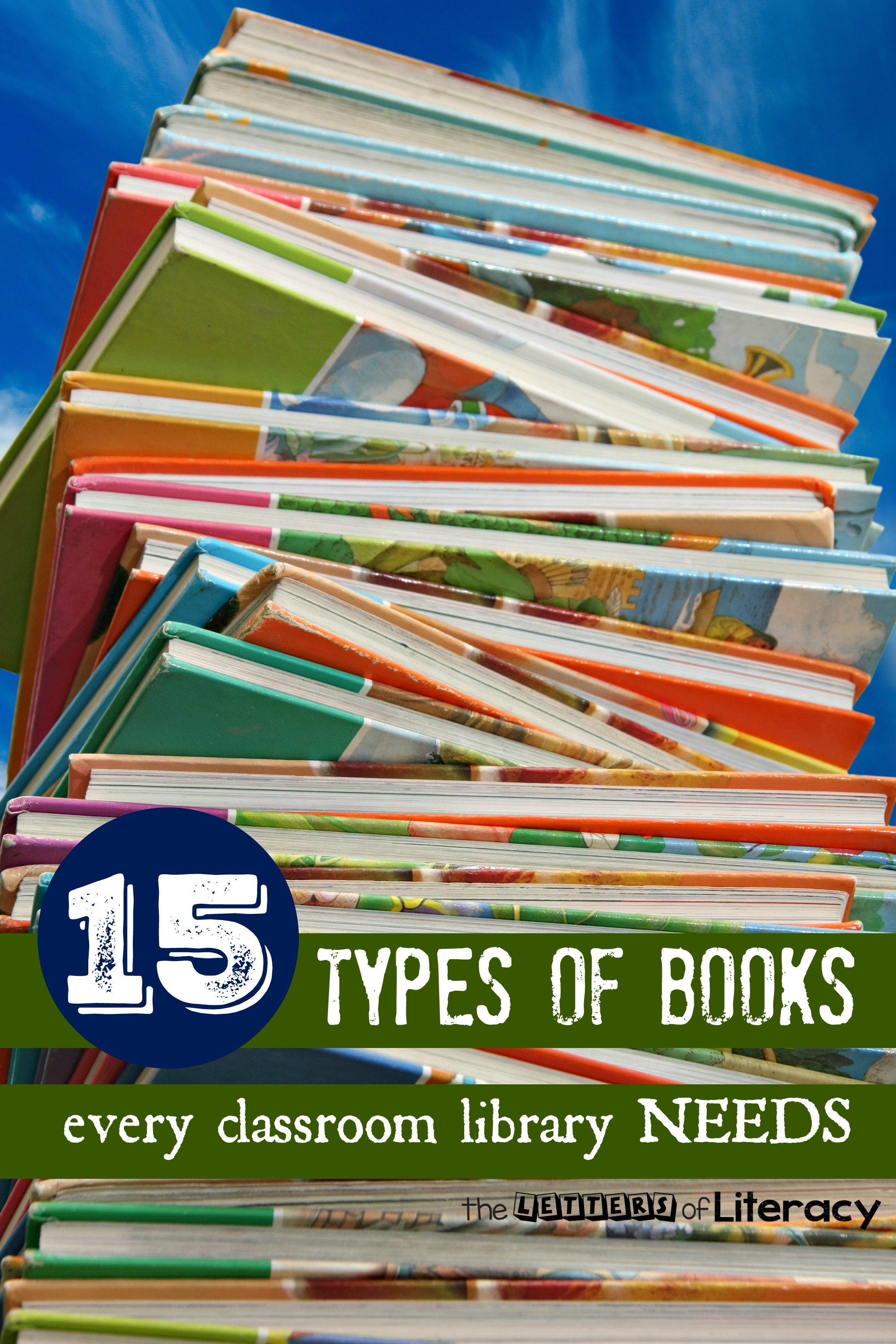 15 types of books every classroom library should have, and they're not what you think!