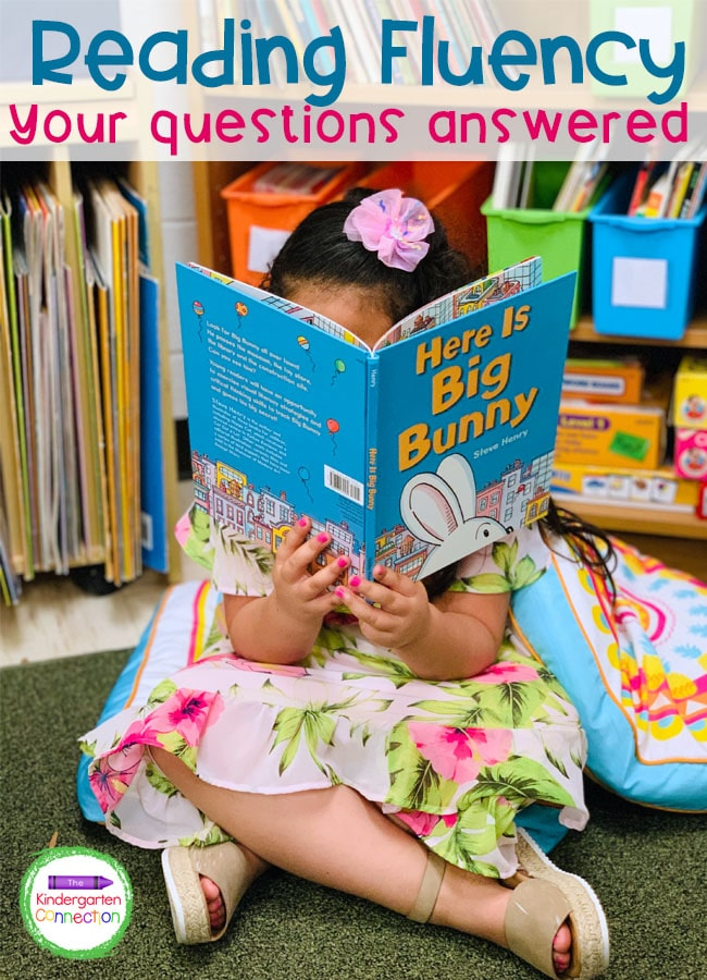 Reading fluency is one of the five components of reading and has a big impact on a child's success. Here are our tips!