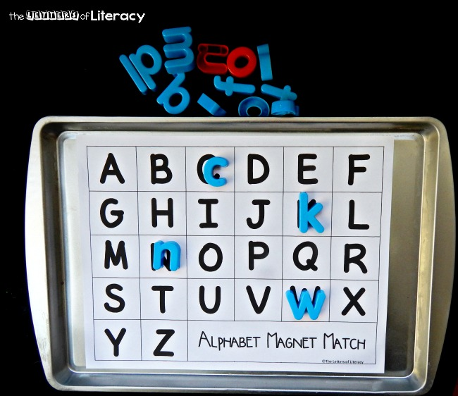 alphabet magnet match 2