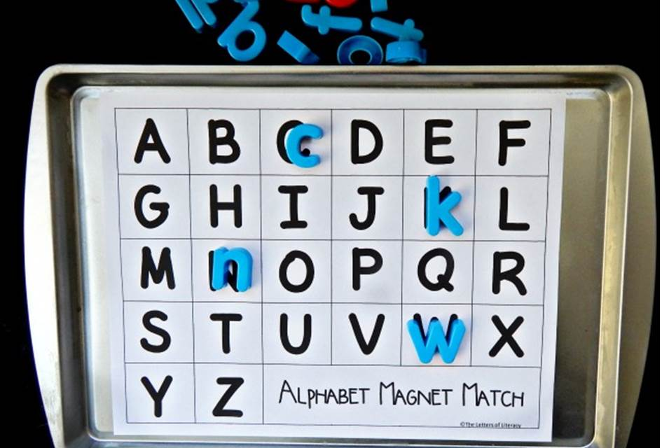 Alphabet Magnet Match