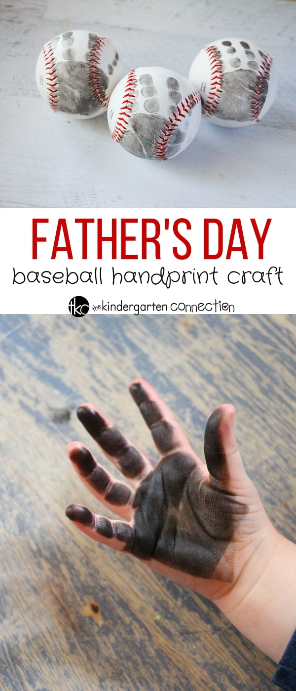 Father S Day Baseball Craft The Kindergarten Connection
