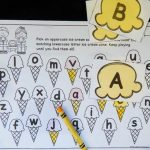 Ice Cream Alphabet Match