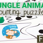 Jungle Animal Counting Puzzles