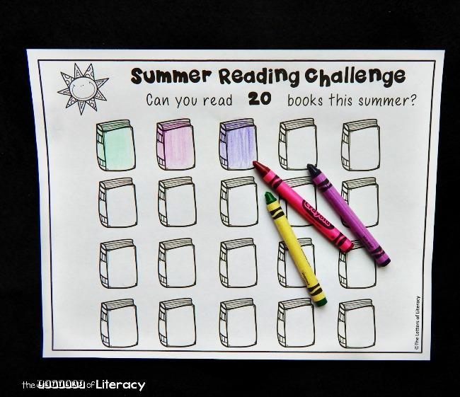 Summer Reading Challenge For Kids The Kindergarten Connection
