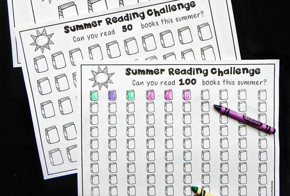 summer reading challenges for kids!