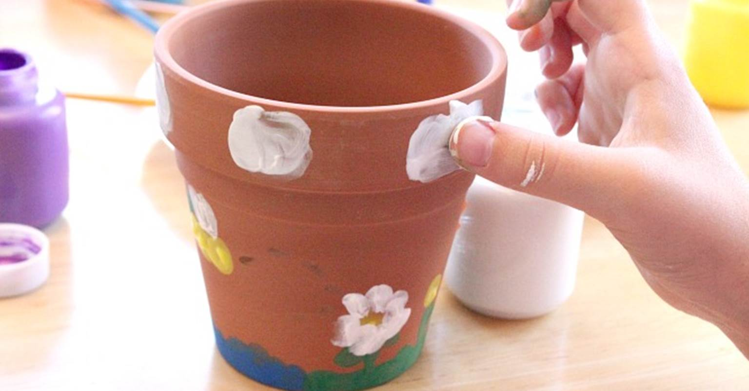 thumbprint flower pots fb