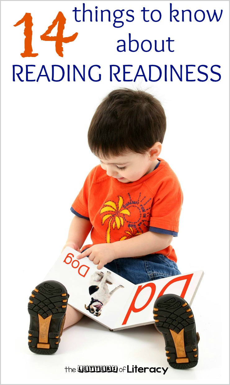 Are you wondering if your child is reading to learn to read? Before you answer, read these fourteen things you need to know about reading readiness.