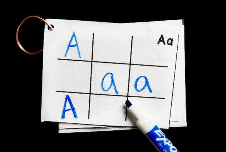 Alphabet Travel Tic Tac Toe