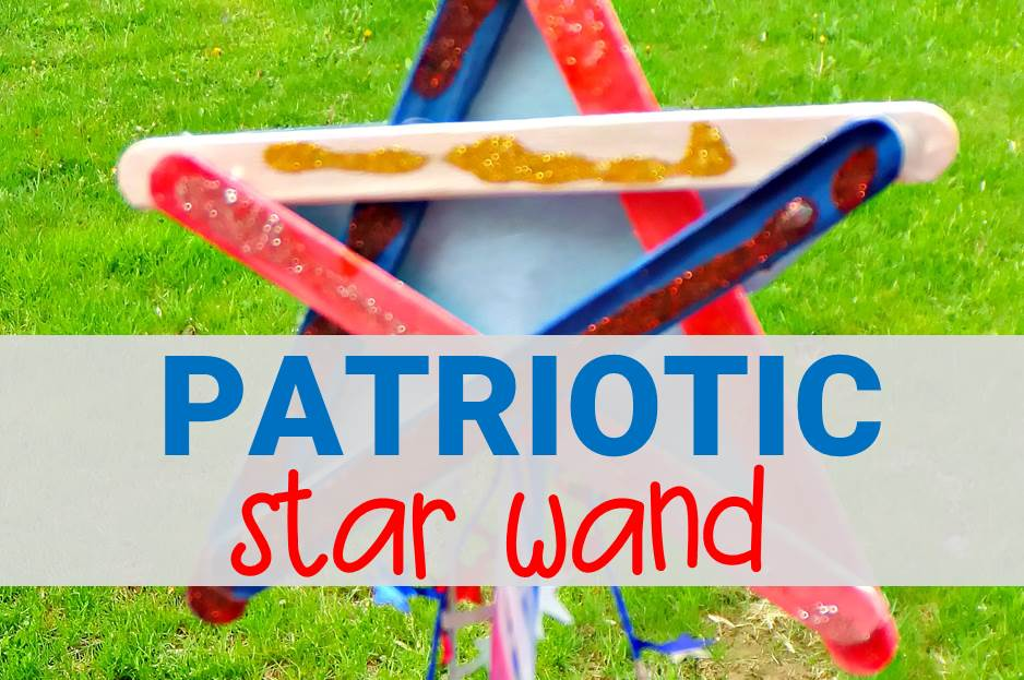 patriotic star wand main image