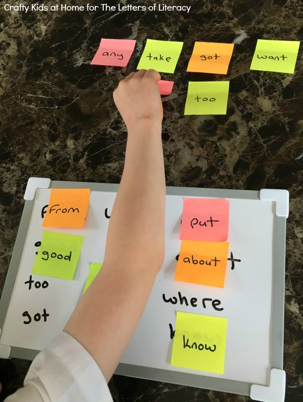 Learning sight words can be challenging, but it doesn't have to be boring. This sight word match game is perfect for early readers at school or home!