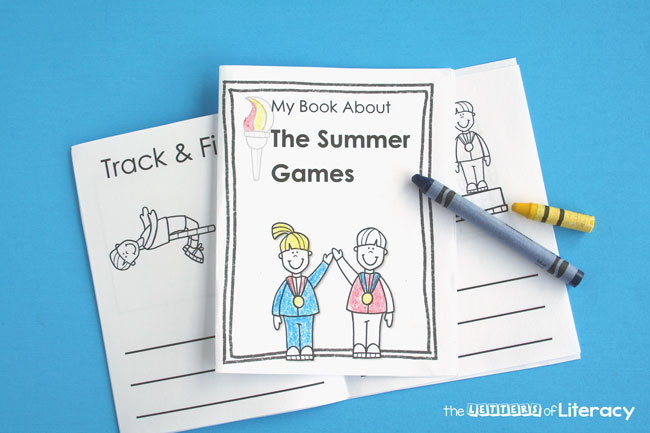 Excited to watch the Olympics? Enjoy the Summer Games with your children, and make it a fun learning experience with this printable summer games journal!