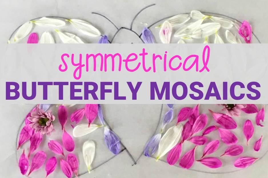 symmetrical butterfly mosaics main image