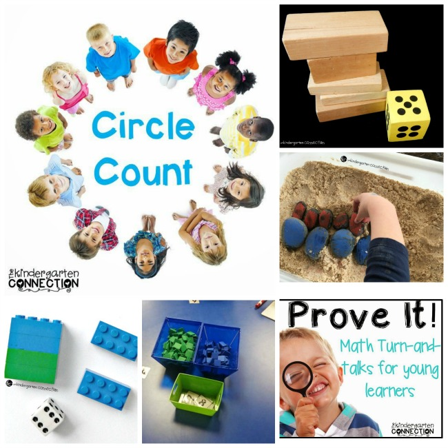 These 50+ incredible math printables and activities for Pre-K to 1st grade help develop number sense, counting, addition, subtraction, and more!
