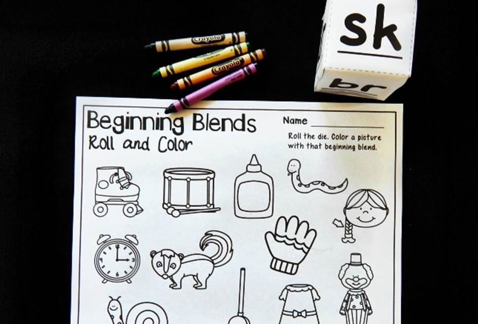 Beginning Blends Roll and Color