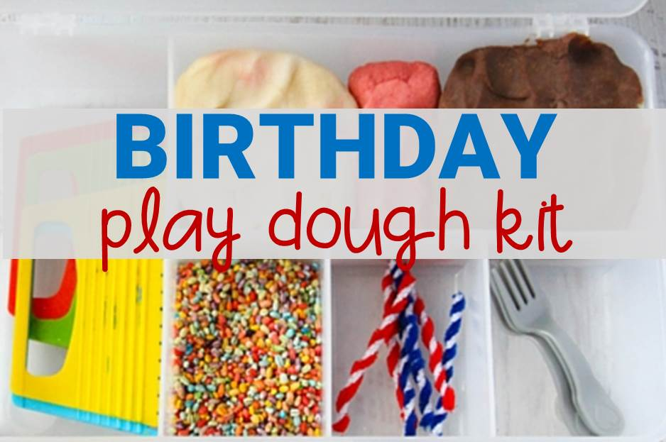 Birthday Play Dough Kit