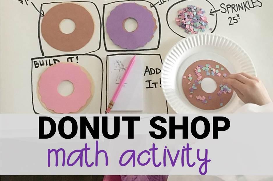 Donut Shop Math Activity