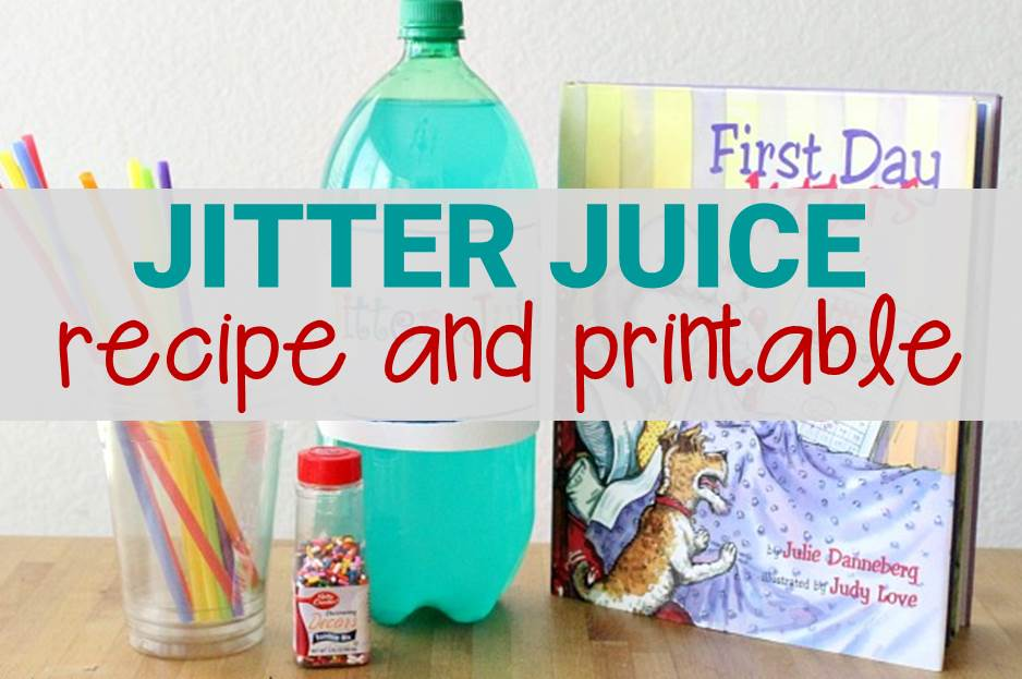 picture about Jitter Glitter Poem Printable named Jitter Juice Recipe With Cost-free Printable Poem for Again in direction of College or university