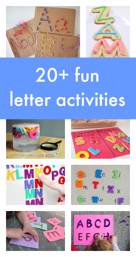 These alphabet activities will help you motivate, engage, and have FUN with your kids while you learn!