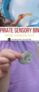 Pirate Sensory Bin