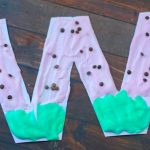 W is for Watermelon Puffy Paint Letter Craft