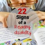 22 Telltale Signs of a Reading Disability