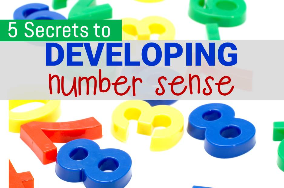 Developing Number Sense: 5 Little Known Secrets