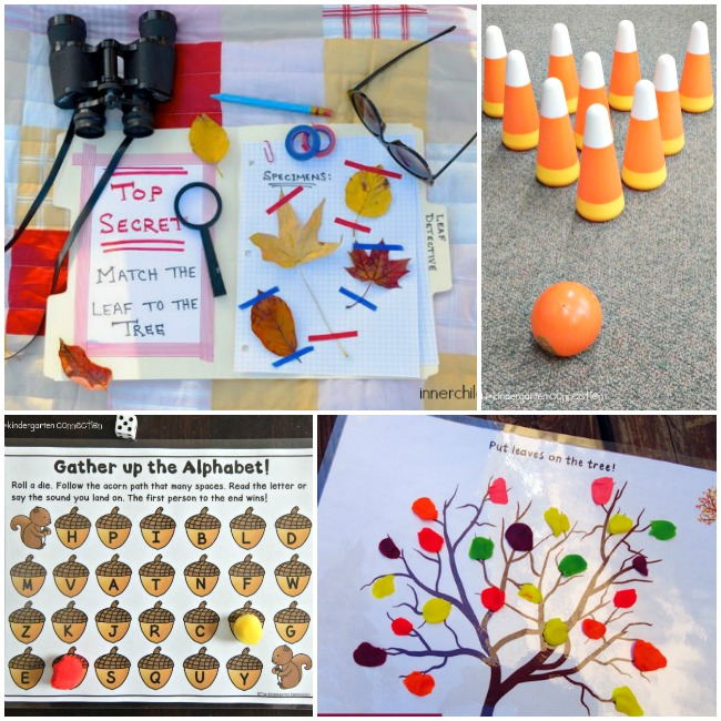 40+ Fall Crafts and Activities - The Kindergarten Connection