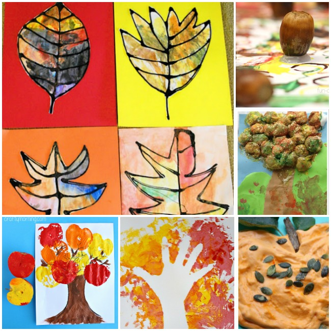 40 fall crafts and activities the kindergarten connection