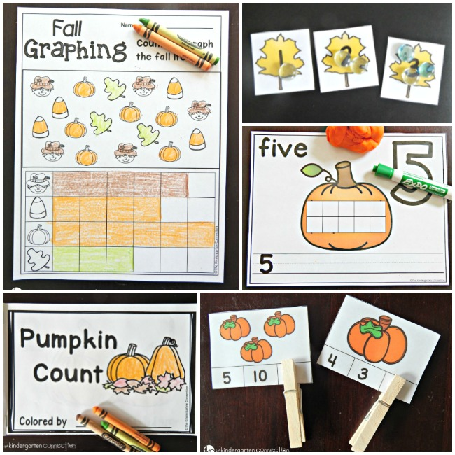 Fall Learning Printables for Kids