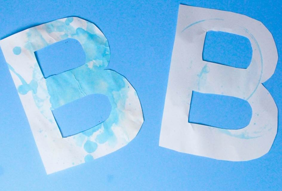 Letter B Craft – B is for Bubble