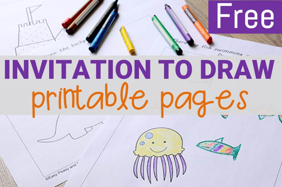 Fun Drawing Printables for Kids